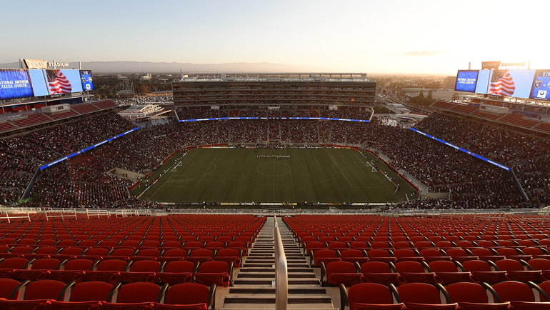 View from inside Levi's Stadium. (Photo: Thearon W. Henderson/Getty Images)