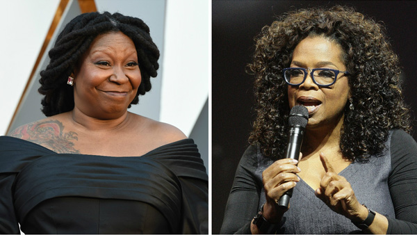 Whoopi Goldberg and Oprah Winfrey (Photos: Getty Images)