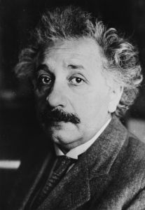 circa 1939: Albert Einstein (1879 - 1955), the German physicist who formulated the theory of relativity. (Photo by Topical Press Agency/Getty Images)