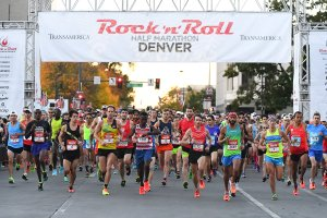 Thousands crossed the finish line in races that benefited St. Jude's Children's Research Hospital. (Photo: Rock 'n' Roll Marathon)