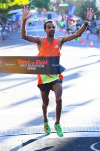 Gebrekidan Abadi of Golden won the Men's division of the half-marathon (Photo: Rock 'n' Roll Marathon)