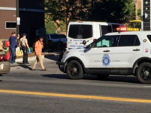Police on the scene investigating an overnight shooting on Colfax. (Photo: KDVR)