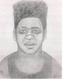 Denver police are looking for a man who they say assaulted a woman twice near Dartmouth and Havana. (Sketch courtesy of Denver Police Department)