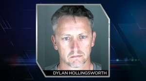 Dylan Hollingsworth, 43, is accused of kneeing a student in the groin in front of his classmates. (Photo: Boulder County Sheriff)