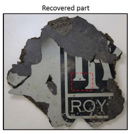 Pieces of debris Australian investigators have determined to almost certainly be from MH370.