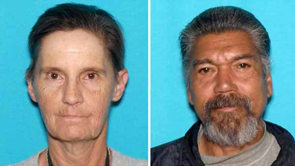 Kimberlie Temple, 57, and Frank Montoya, 61, were last seen at Lake Pueblo State Park on Saturday, Dec. 10, 2016. (Photos: Colorado Parks and Wildlife)