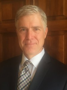 10th Circuit Court of Appeals judge Neil Gorsuch.