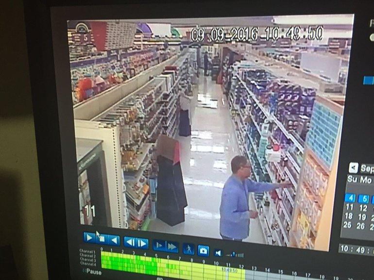 Robert Vashaw Buying Condoms