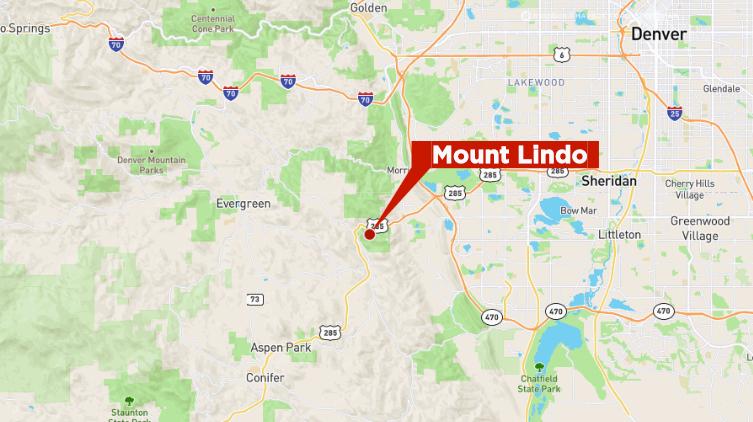 Mount Lindo map