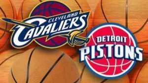 Cavs Vs. Pistons