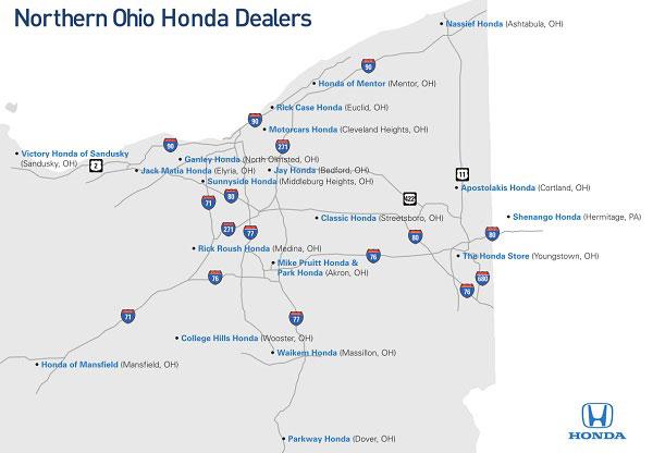 Honda-Map