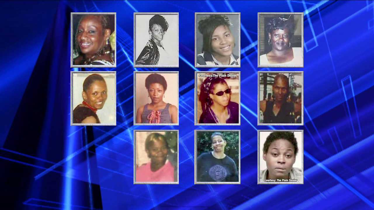 Pictures show the 11 women whose bodies were found at a home on Imperial Avenue.