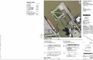 North Coast marina proposal picture via architect Paul Volpe. (Courtesy City of Cleveland)