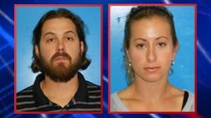 Chris and Melanie Perez Booking Photos (Courtesy: Rocky River Police Department)