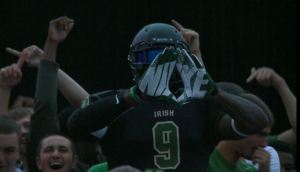 LeBron James Unveils the New SVSM Football Jersey Saturday
