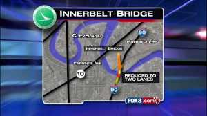 Innerbelt Bridge Detour
