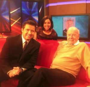 Gabe, Melissa and Tim Conway