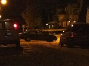 (A fatal shot was fired at a vehicle in the 4100 block of East 146th Street in Cleveland on Dec. 18, 2013.)
