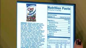 Make Informed Nutritional Decisions vending machine touchscreen (Photo Credit: Fox 8 News)