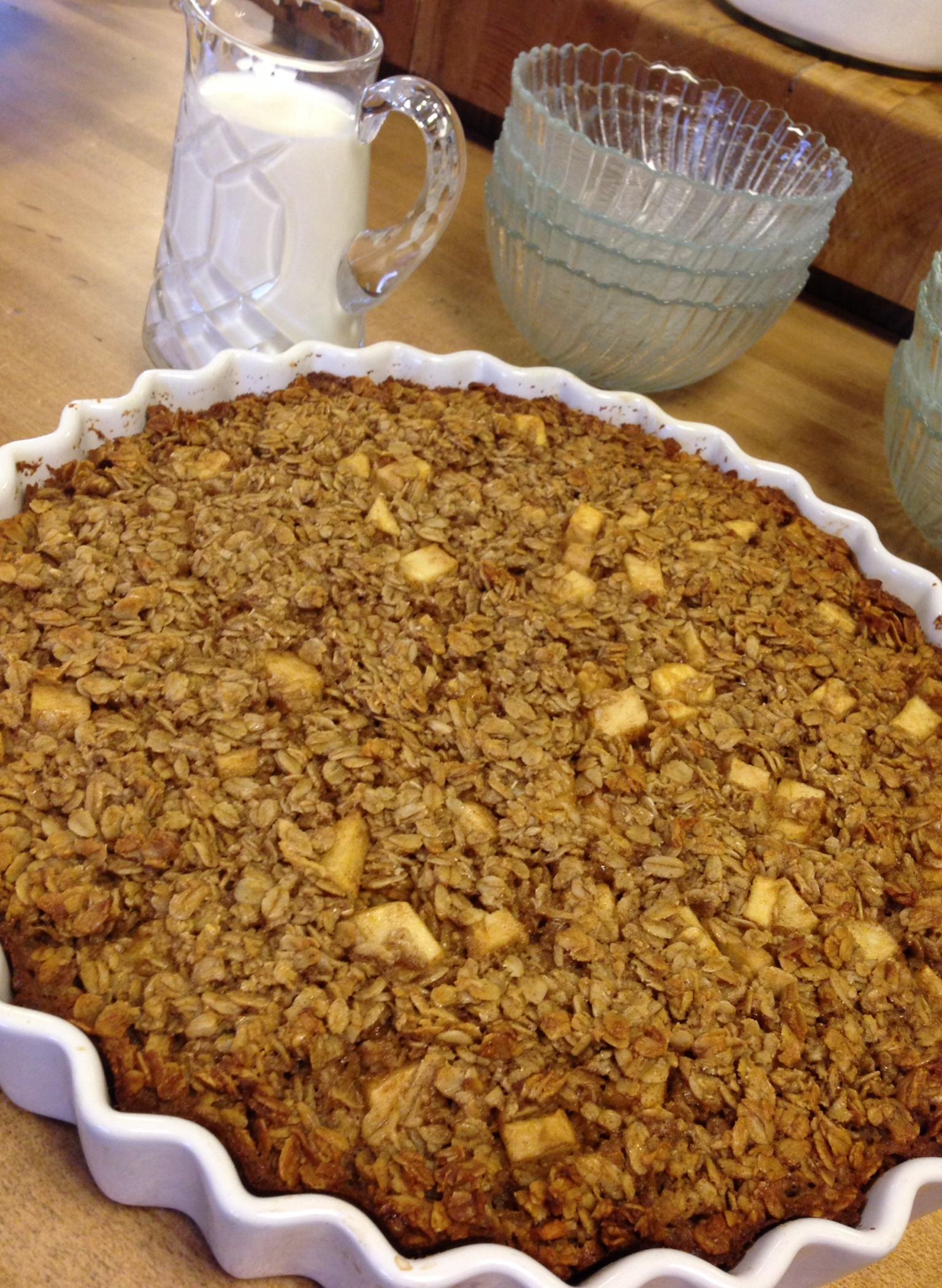 Lee Ann Miller's Baked Apple Oatmeal