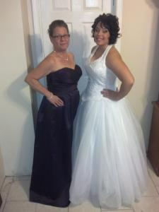 Gina and her mom, Nancy Ruiz, at the Winter Wonderland Ball (Photo from Nancy Ruiz)