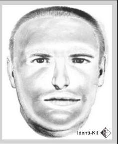 Sketch from Akron police of utility scam suspect