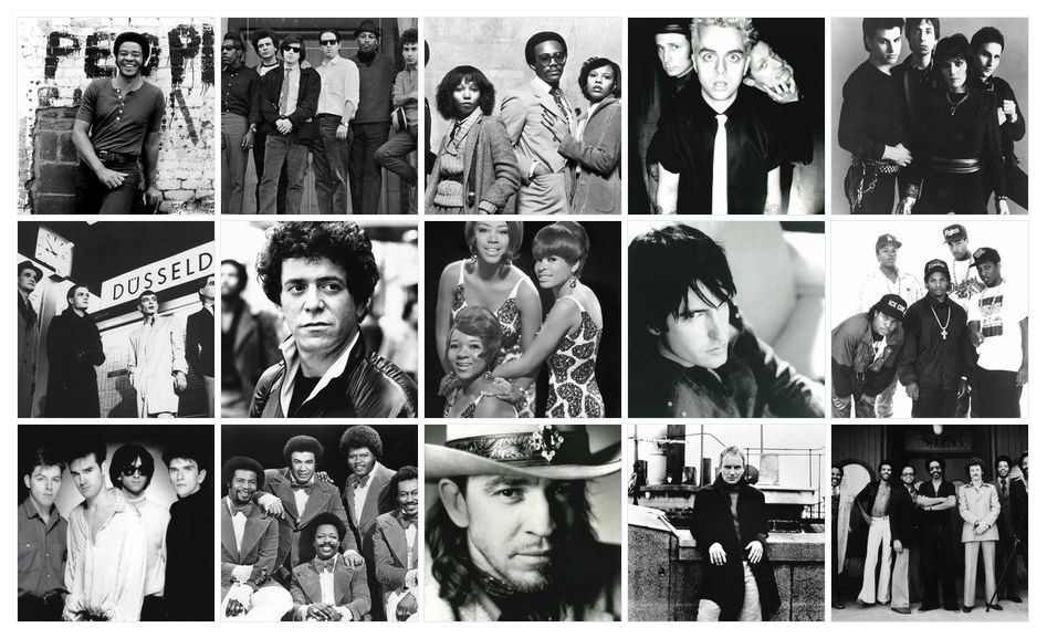 (Rock and Roll Hall of Fame nominees for 2015 induction/Courtesy: Rock and Roll Hall of Fame)