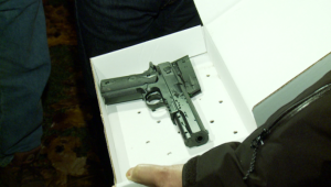 """Airsoft gun"" found on the juvenile involved in Saturday's officer-involved shooting (Photo Credit: Fox 8)"