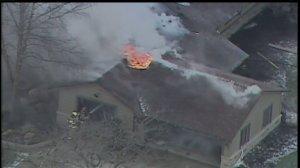 Medina County house fire 7