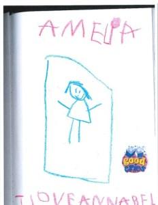 Amelia's Story for Annabel Joy (Photo courtesy: Pounds family)