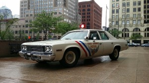 Cleveland 4th Annual Vintage Police Vehicle Show (Photo courtesy: WJW Image)