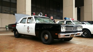 Cleveland 4th Annual Vintage Police Vehicle Show (Photo courtesy: WJW Image