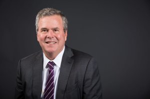 "Former Florida Gov. Jeb Bush decided to ""actively explore"" a 2016 presidential bid after conversations with his family over Thanksgiving, he said in a Facebook post Tuesday, Dec. 16, 2014. (Courtesy: Jeb Bush via CNN)"