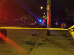 Deadly shooting on E. 114th St. in Cleveland, July 28, 2015