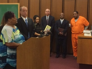Davia's mother, Sonya, spoke in court Wednesday (Photo Credit: Fox 8 News)