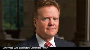 Photo: Jim Webb 2016 Exploratory Committee / MGN
