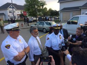 Cleveland Police Chief Calvin Williams speaks after shooting death of 5-year-old (Sept. 4, 2015)