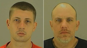 Ryan Peltan (left) and Derik Snell (Photos courtesy: Akron police)