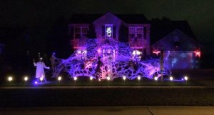 People come from all around to see this Halloween House in North Ridgeville every night however, the best night to visit us is Halloween when all the fun animatronics and spooky items are displayed for the Trick-or-treaters.