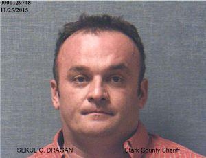 Dragan Sekulic (Photo courtesy: Stark County Sheriff's Office)