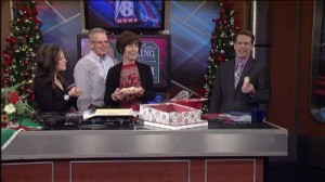 Todd Meany's mother, Vicky, shares her recipe for Coconut Christmas Cookies.