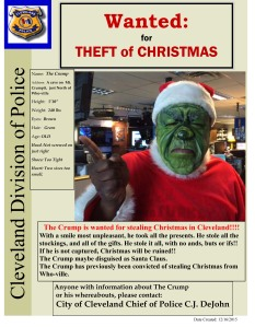The Crump wanted poster