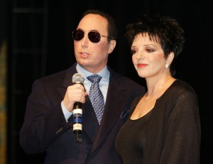 David Gest and Liza Minnelli at the House of Blues in West Hollywood, Ca. to announce they will star in a new weekly musical reality series to air on VH-1. Thursday, July 25, 2002. (Photo by Kevin Winter/ImageDirect via Getty)