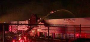 Randall Park Mall fire