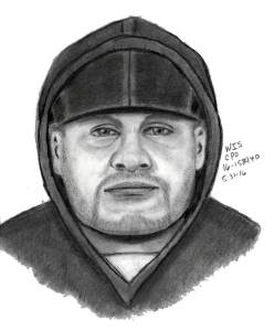 Composite sketch of person of interest in Cleveland abduction, attempted Elyria abduction (Photo Credit: Cleveland Division of FBI)