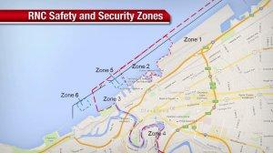 RNC Coast Guard security zones