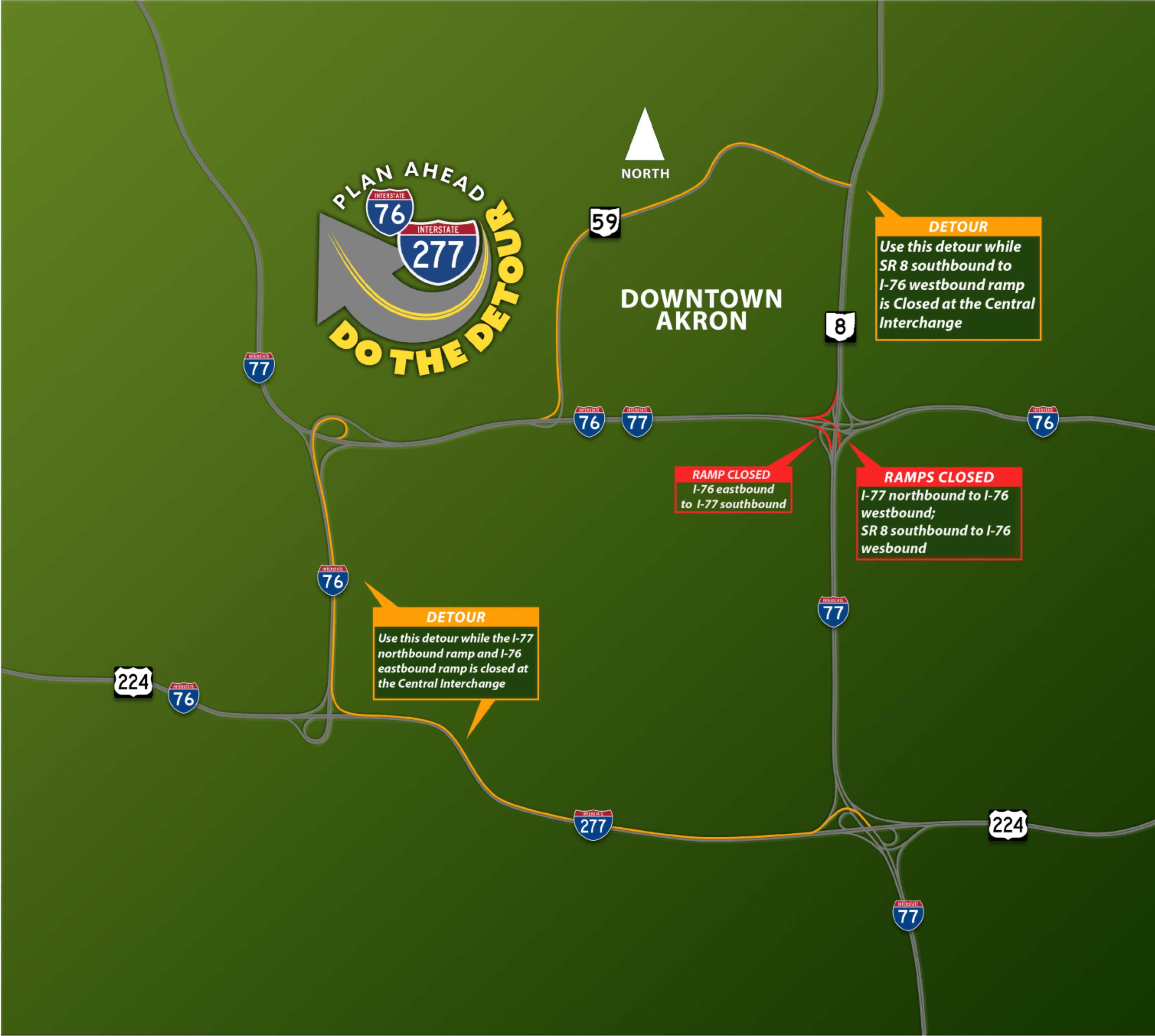 Map courtesy of ODOT