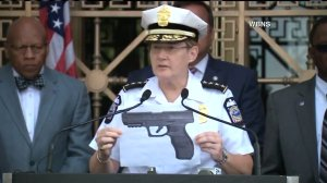 Photo of the BB gun of Tyree King, 13, who was shot to death by Columbus police