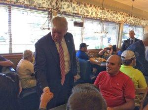 Donald Trump in Brook Park (Courtesy: FOX 8's Dave Bradford)