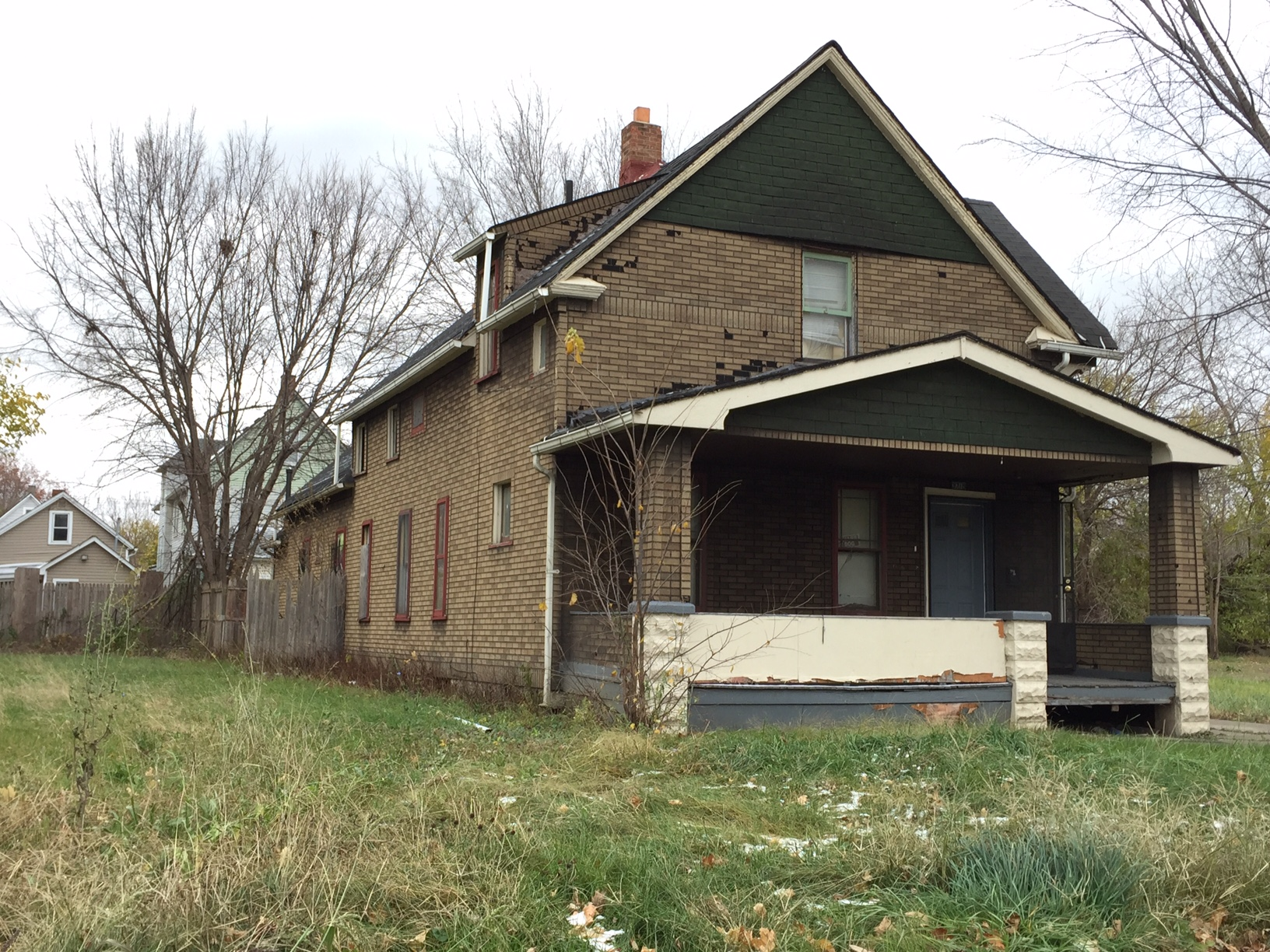 East 54th vacant home